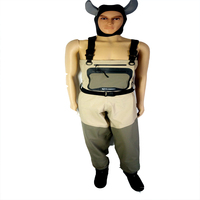 Stand To The Chest To Wear Pants In The Water Fishing Wading Suits 10000 Waterproof Breathable