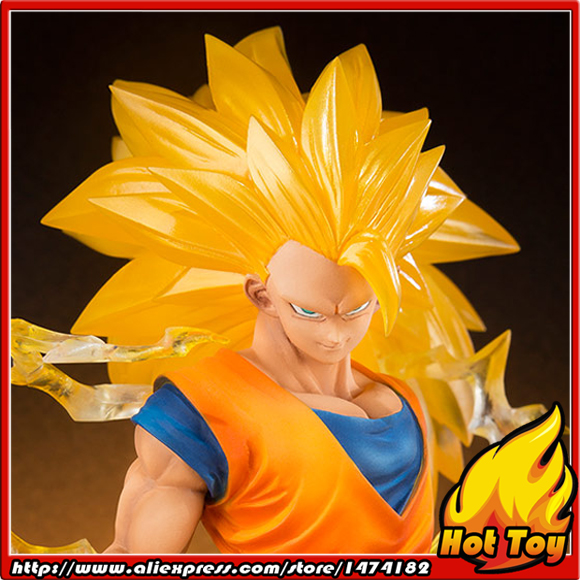 100% Original BANDAI Tamashii Nations Figuarts ZERO Action Figure - Son Gokou Super Saiyan 3 from