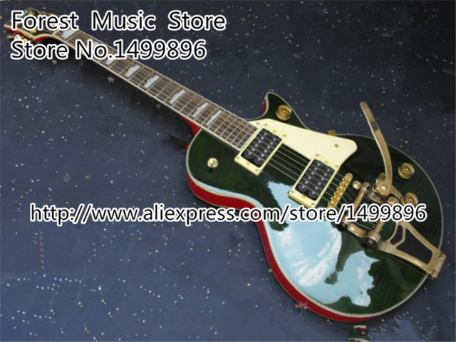 Cheap Custom Shop Nashville G6139 Electric Guitarra with Bigsby China OEM Gold Hardware Guitar