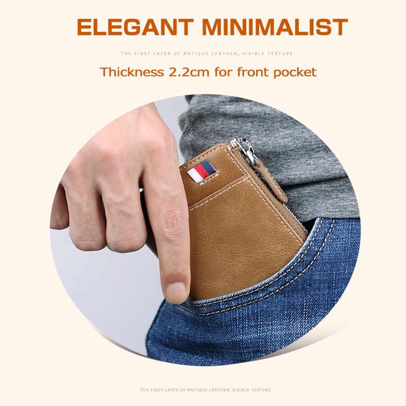 Vintage Zipper brelok prawdziwej skóry mężczyzn Car Key organizator z brelok porte cle moda skórzany na klucze torba Case PL309