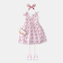 2019 summer new girls cotton dresses  princess  dress   princess costume  little girls dresses  girl dress arrival new 2017 princess summer baby girls black dress white polka dots children fashion dresses for little girl dresses