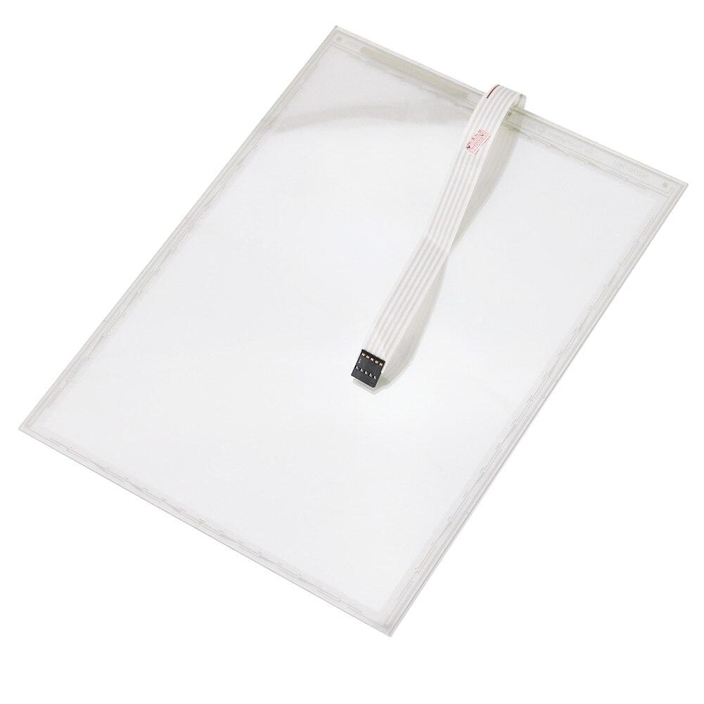 1PCS Original 6.4 inch For ELO P/N:E384322S CN-4W-FLT06.4-004-0H1-R Touch Screen Digitizer Panel Glass 6 4 elo touch screen e384322 scn 4w flt06 4 004 0h1 r