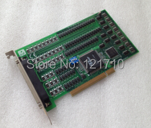 Industrial equipments board PCI-1754 REV.A1 01-1 64-ch Isolated Digital Input PCI Card