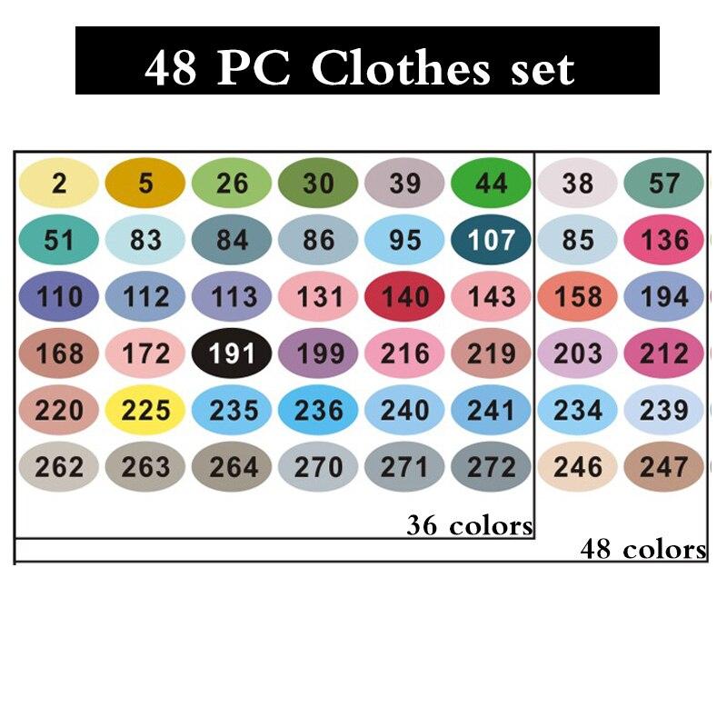 Цвет: Одежда 48 шт