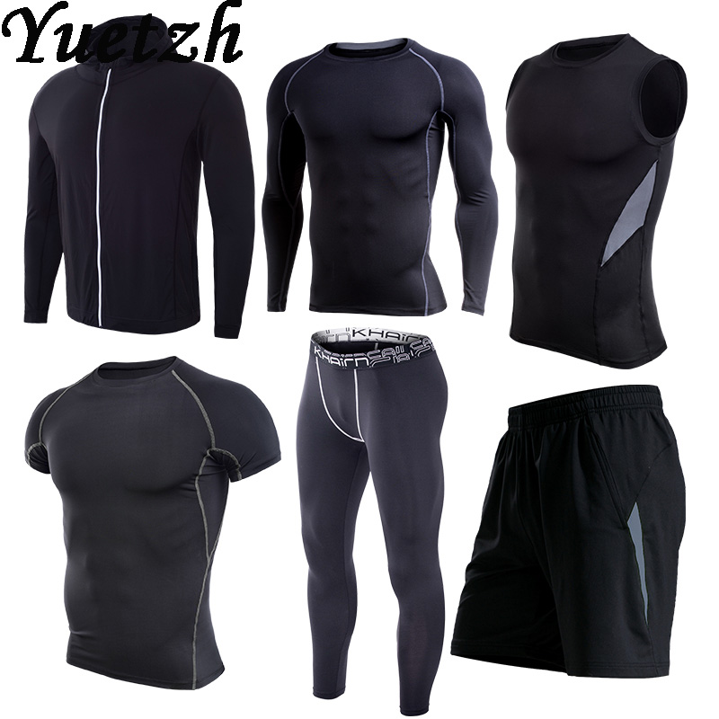 Fitness-Wear Tracksuit Sportwear Running New Gym Men Climbing Hiking Outdoor Quick-Try