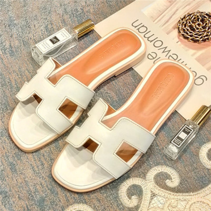 Womens summer custom ladies sandals luxury brand white red womens slippers quality flat shoes candy color outdoor shoes 34-41Womens summer custom ladies sandals luxury brand white red womens slippers quality flat shoes candy color outdoor shoes 34-41