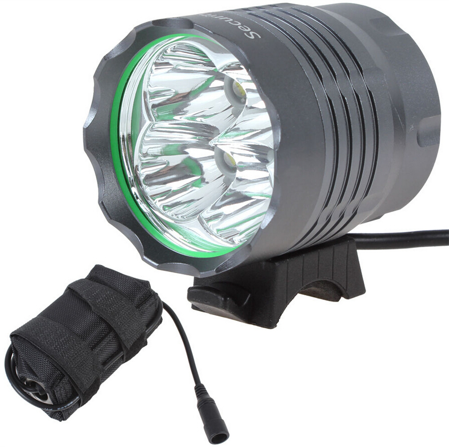 Sales NEW SecurityIng 4800Lm 4X XML T6 LED Bicycle Bike Light 6400mAh Rechargeable Battery Pack 3