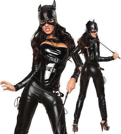 Девушки в кожаном обтягивающем костюме фото