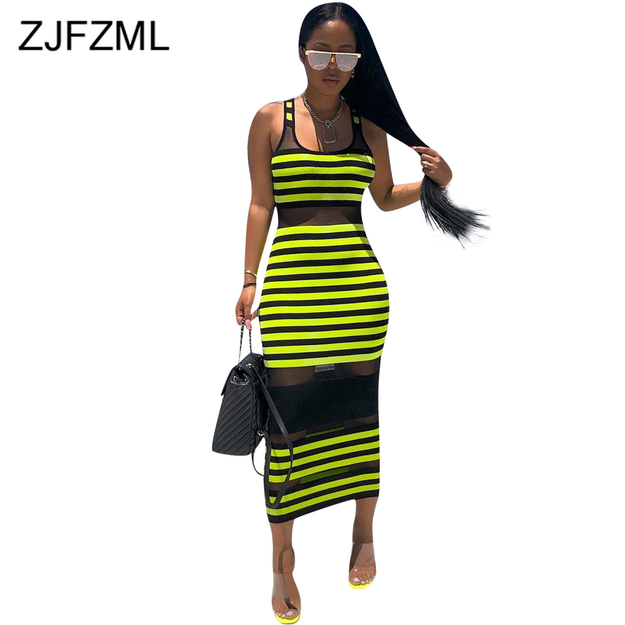 0f298e0726 Neon Green Plus Size Casual Shirt Dress Women Turn Down Collar Long ...