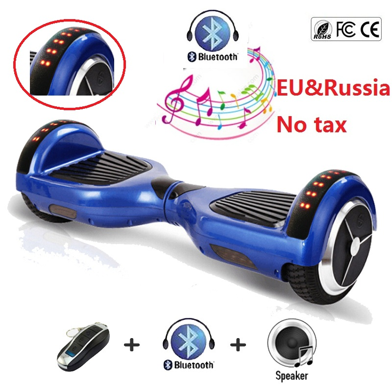6 5 Inch Electric Skateboard Self Balancing Scooter