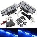 03024 New Arrival Universal Car Emergency Flash Light 6X9LED 54 LED Grille Deck Lightbar Strobe Flashing Light 12V Free Shipping