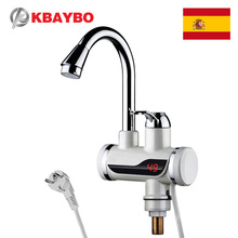3000W Electric Water Heater Kitchen Faucet electric instant water heater tap Cold Hot Dual-Use