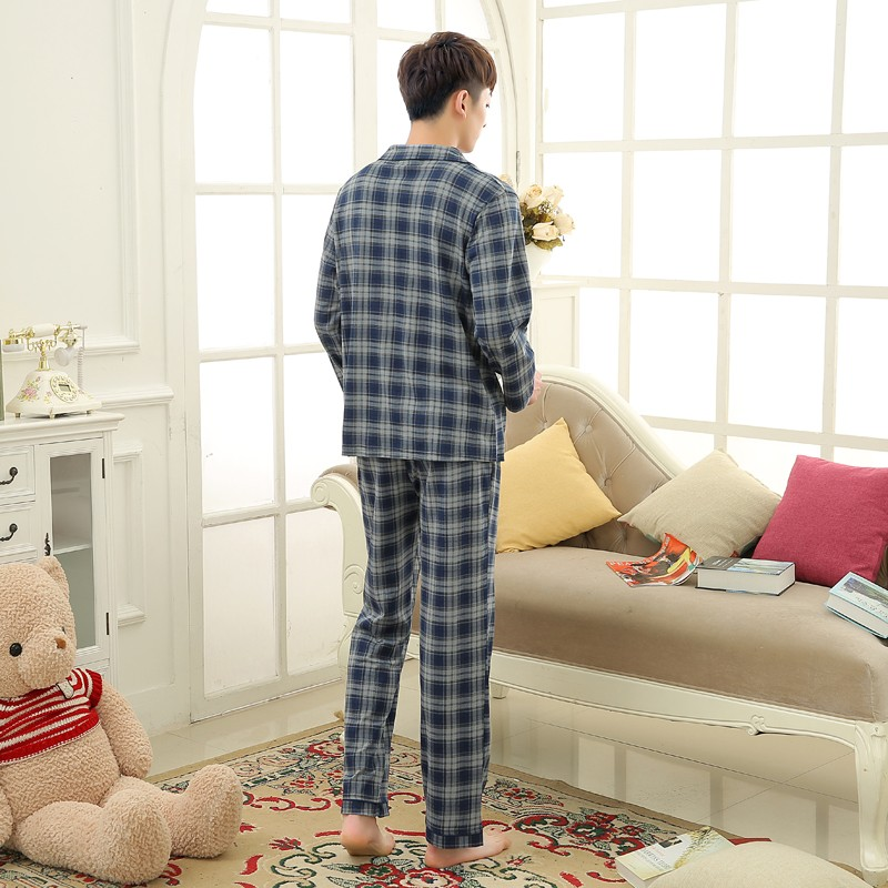 Men\'s Cotton Polyester Pajama Sets RBS-C LYQ1414 47