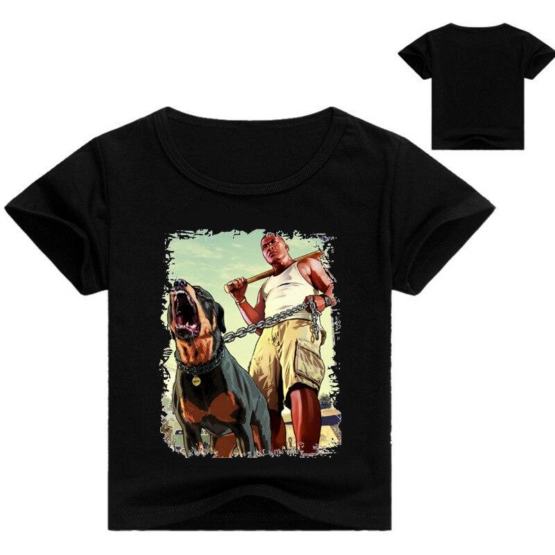 8d78ffaeebd41 Z   Y 3 16Years Drôle T shirt Gta 5 Enfants Vêtements Bébé Fille chemise  Garcon Garçons Occasionnels T shirt Fille Chemisette Menina Novatx N7252  dans ...