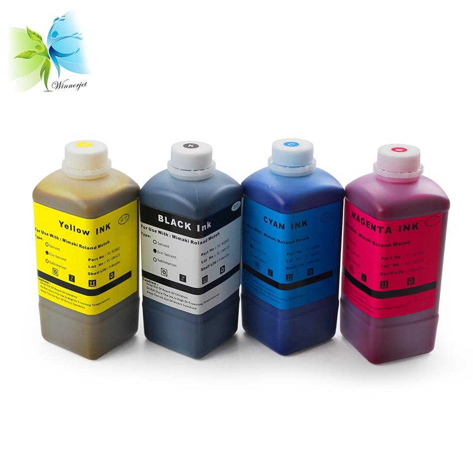 WINNERJET 1000ml Eco Solvent Ink For Roland VS-640 VS-540 VS-420 VS-300 Printer