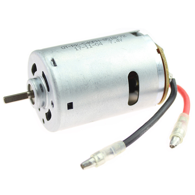 Rc Car Spare Parts 540 Electric Motor 12428 0121 7.4V 540 Motor For Wltoys 12428 12423 Electric Machinery