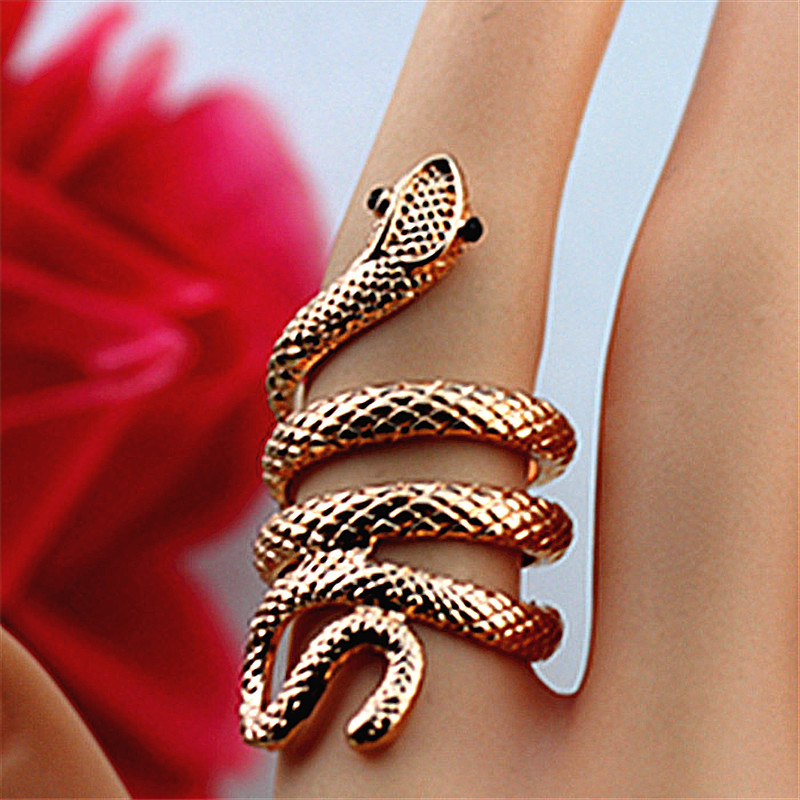 New fashion accessories wholesale girl birthday hip-hop party vivid animal small snake ring gift free shipping SETS