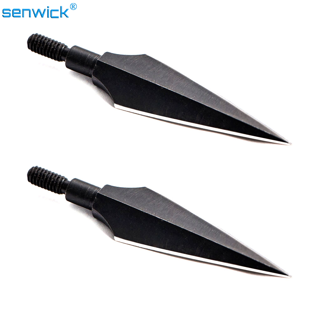3PCS/ 6pcs Sharp Carbon Steel Rotary Arrow Heads Carbon Arrow Tips Arrow Points Archery Arrowheads For Compound Bow And Crossbow