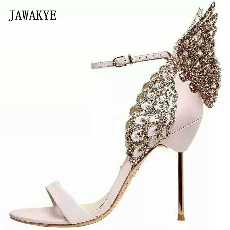 Angel Wing Wedding Shoes