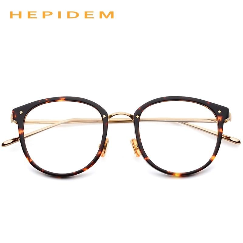 5ed6e40785 Acetate Glasses Frame Men Vintage Round Oliver Prescription Eyeglasses for Peoples  Women Myopia Optical Frame Spectacles Eyewear-in Eyewear Frames from ...