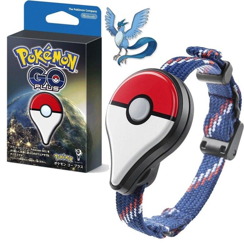 2017 Original Pokemon Bracelet Pokemon Go Plus Glowing LED Bluetooth bracelet pokemon go plus Smart Wrist