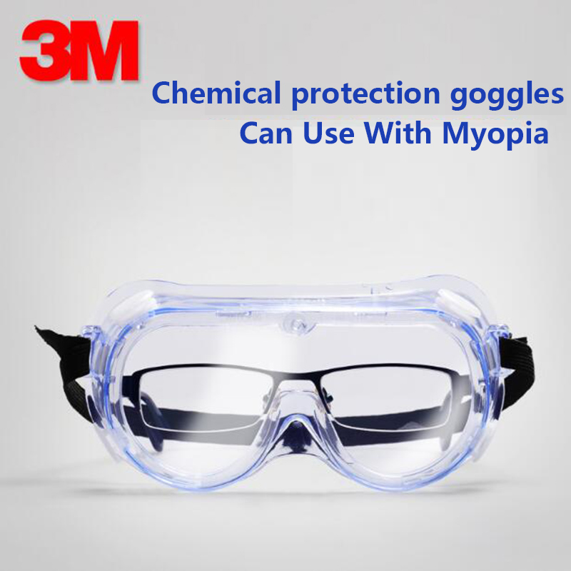 Safety Goggles Fghgf Hot Sale Eye Protection Protective Lab Anti Fog Clear Goggles Glasses Vented Safety Glasses For Industrial Lab Work