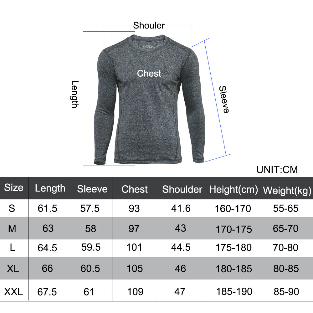 Tactical Long-sleeved T-shirt Men's Quick-drying Thick Section Sport Long-sleeved Autumn and Winter