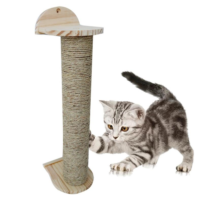 Cat Scratch Board Toy Sisal Hemp Cat Kitten Climbing Scratching Tree Cats Protecting Furniture Grind Claws Cat Scratcher Toy