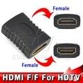 Горячие Продажи HDMI Женский к HDMI Женский Connector Extender Кабель HDMI Удлинитель Адаптер Конвертер для ПК DVD 1080 P HDTV