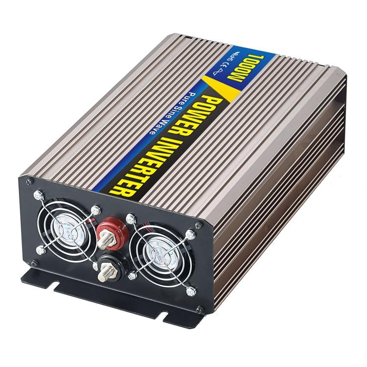 MAYLAR@ Real power 1000W Car Power Inverter Converter DC 48V to AC 110V or 220V Pure Sine Wave Peak 2000W Power Solar inverters 1pcs 300w car power inverter converter dc 12v to ac 110v or 220v pure sine wave power solar inverters