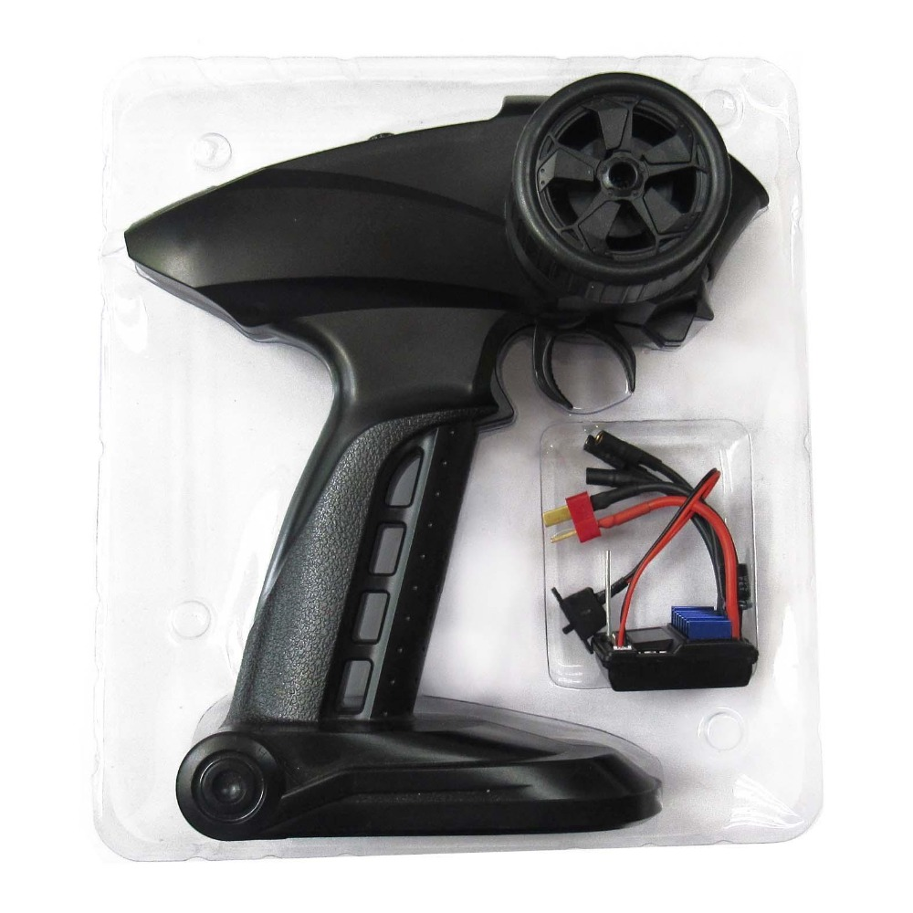2in1 2.4G Sports 2CH Transmitter Receiver Brushless <font><b>25A</b></font> <font><b>ESC</b></font> Radio Control System image