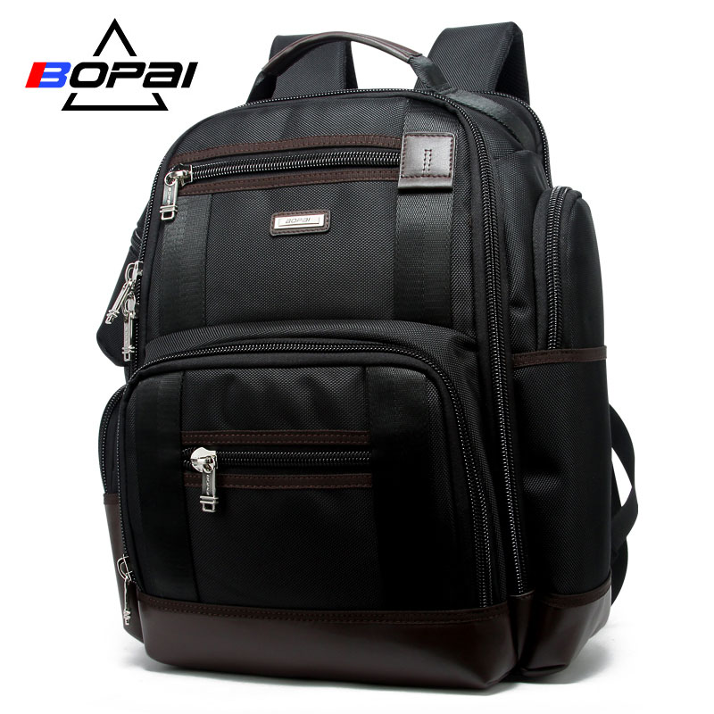 Image 2 - American Famous Brand Multi Pockets Men Backpack Large Capacity Weekend Travel Back Pack Business Men's Super Backpack Male Bag-in Backpacks from Luggage & Bags