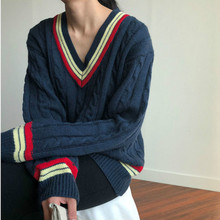 Mujer Clothes V-neck Sweater