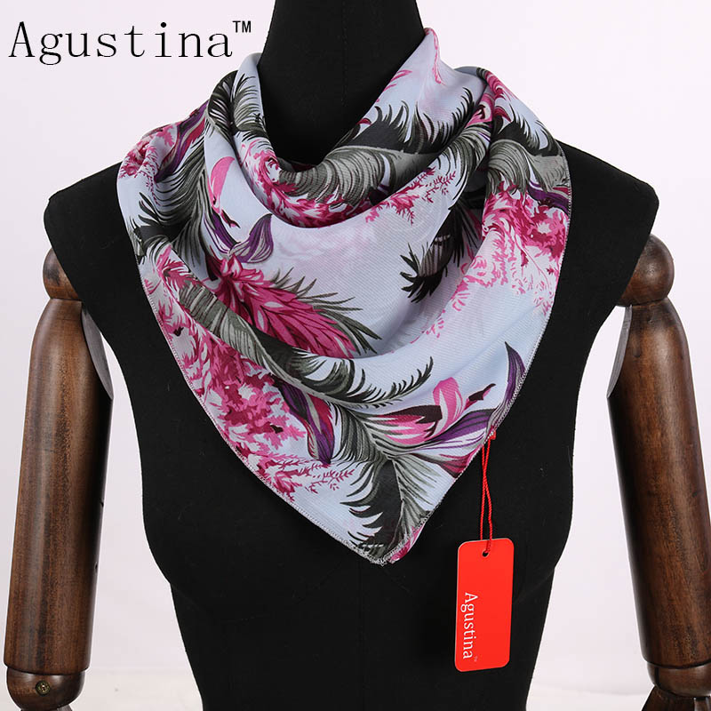 2018 chiffon 60*60 square scarf luxury hijab high quality women fashion scarfs for ladies Shawl wraps scarfs echarpes foulards