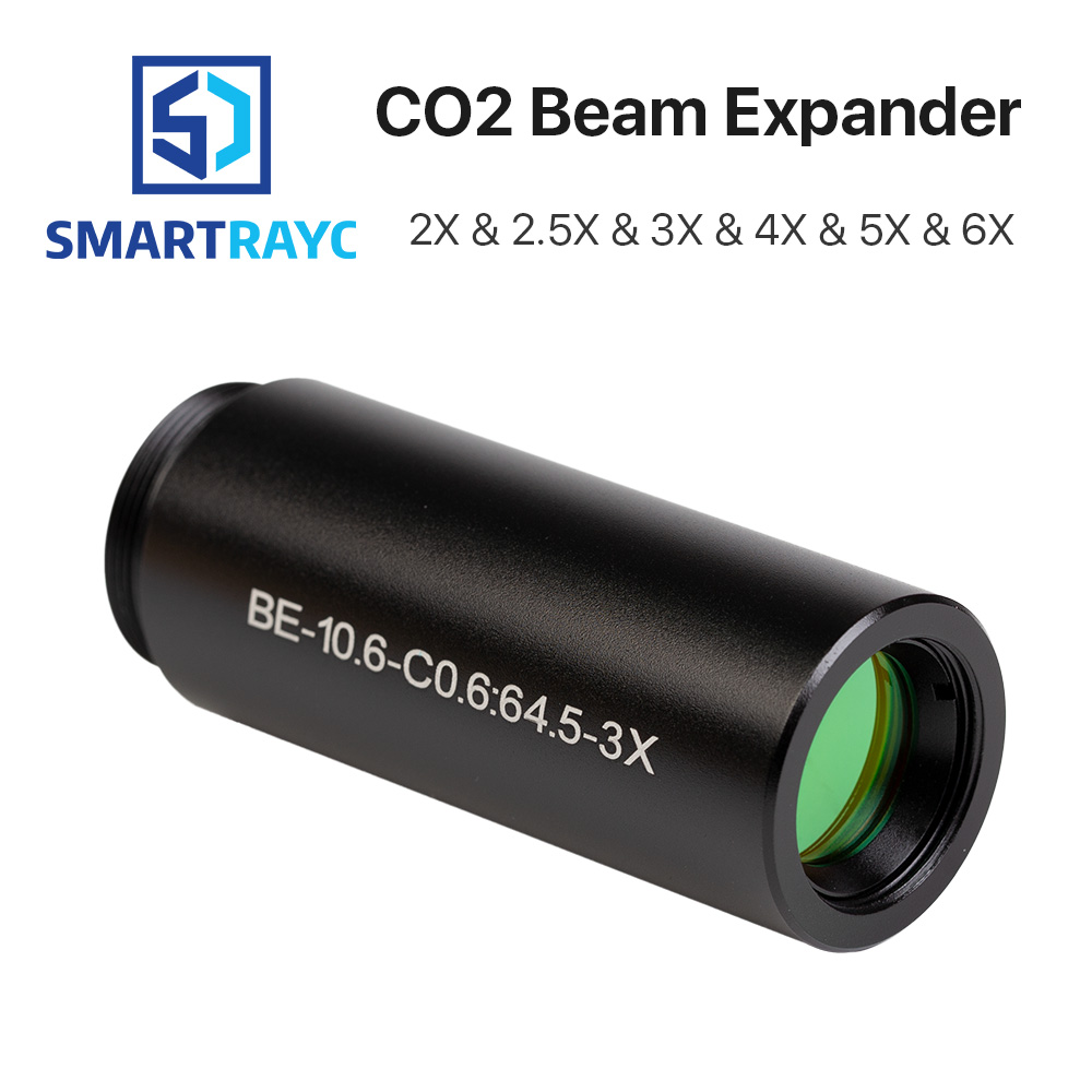 CO2 laser 10600nm Laser Beam Expander 1.5X 2X 2.5X 3X 4X Galvanometer Laser Marking Lenses Optics Beam Expand все цены