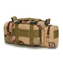 New Arrival Tri Colors Waist Pocket Camera Bag Saddle Bag Tactical Military Fans Outdoor Leisure Shoulder Messenger Backpack