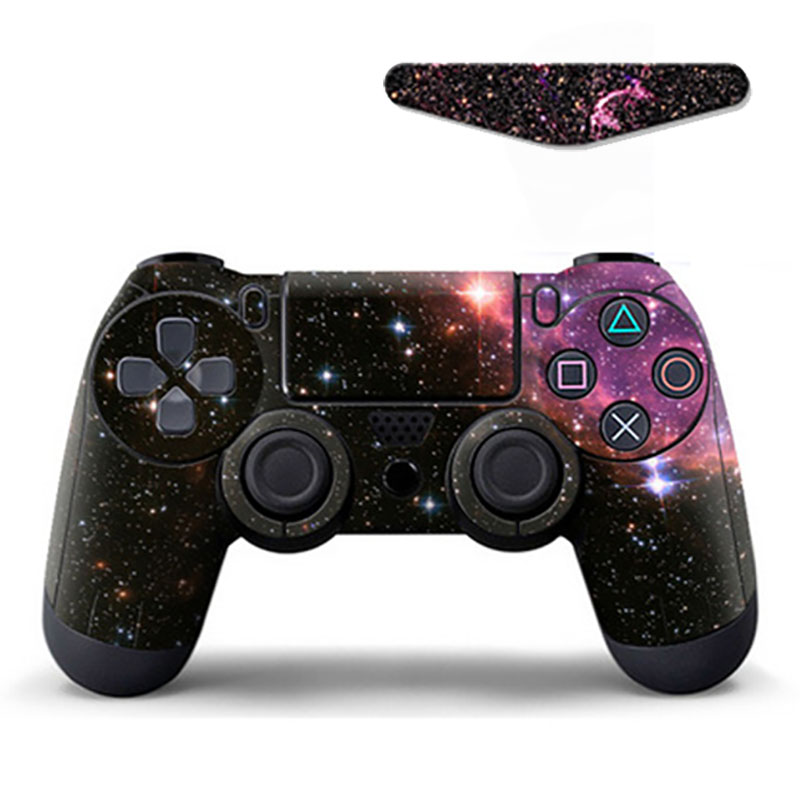Skin Stickers For Sony PlayStation4 Controller LED Light Bar Sticker Decals For PS4 Slim Pro Stickers Controllers Game Accessory(China)
