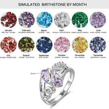 Jasmine Jedna Birthstone Ring