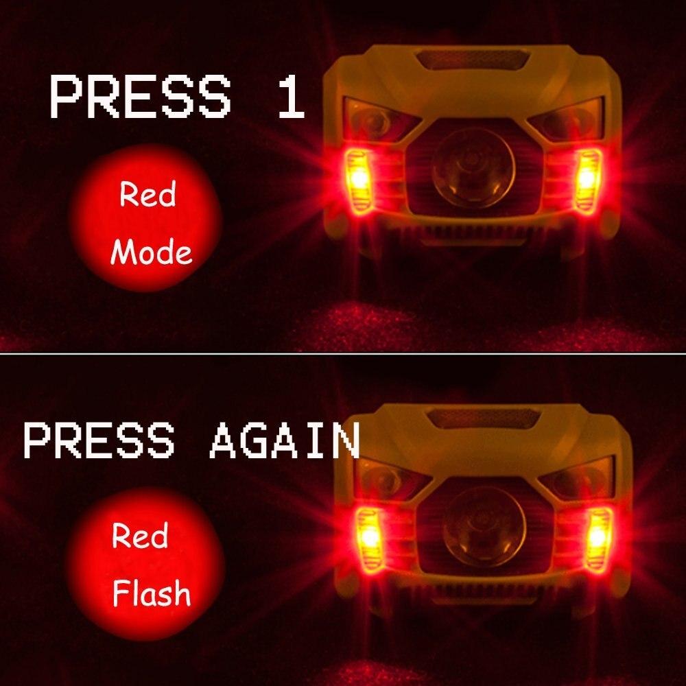 Faróis de Led 5 w levou sensor de Modelo de Contas Led : Cree-xpe