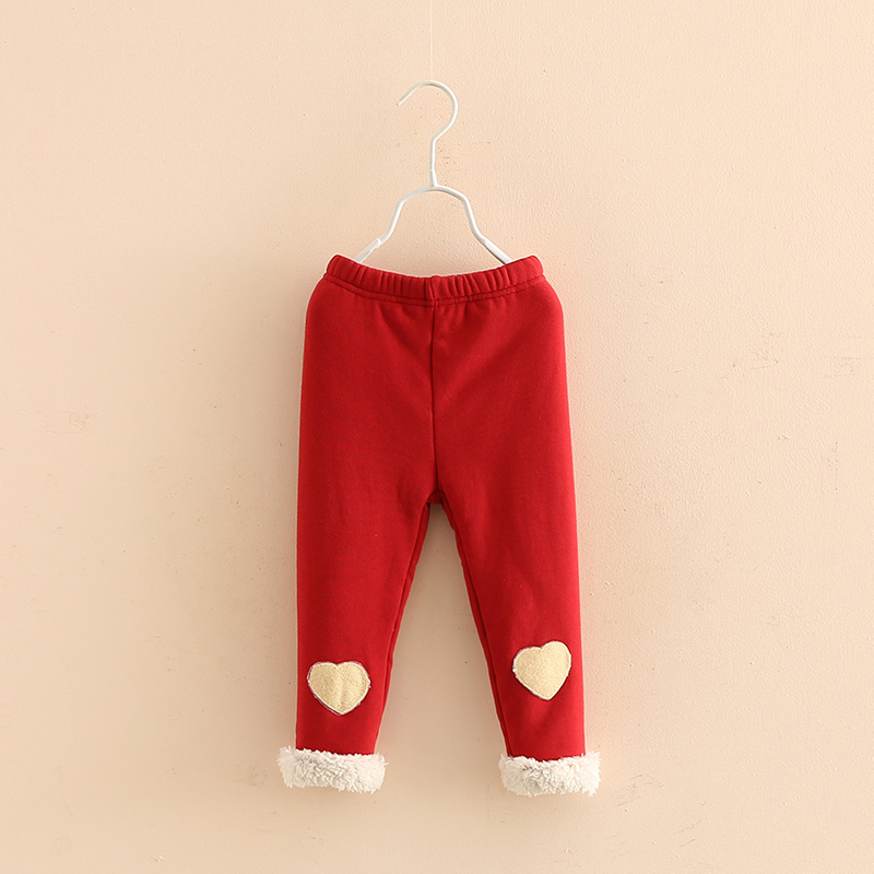 2017 New Fashion Baby Girls Pants Wnter Warm Soft Comfortable Children Clothing Kids Pants Baby Girls Clothing High Quality