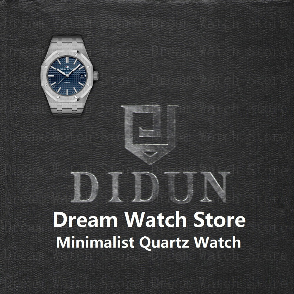DIDUN Watch Mens Watches Top Brand Luxury Quartz reloj de pulsera - Relojes para hombres