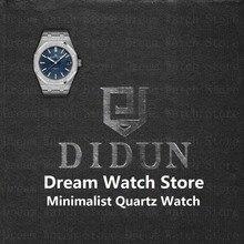 Мужские часы лучший бренд Роскошные водонепроницаемые кварцевые часы минималистские наручные часы с 316 Нержавеющаясталь браслет