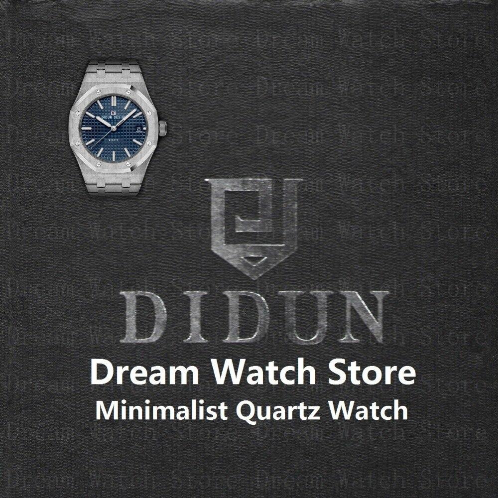 Montres homme Top Marque De Luxe montre à quartz Étanche Minimaliste Montre-Bracelet Avec 316 acier inoxydable Bracelet
