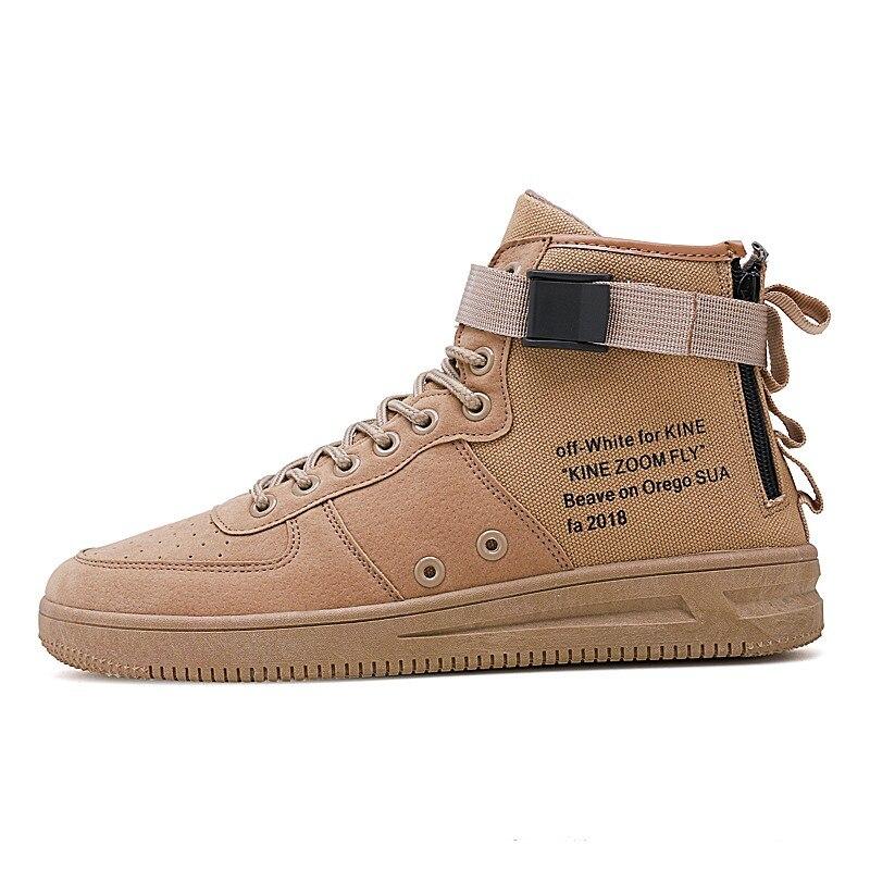 Superior Deporte Y Vulcanizar Colores Estilo Sólidos Lona Zapatos Black  Moda Primavera Hombre Otoño Hombres red Coolvfatbo alto ... 22b6db7d853
