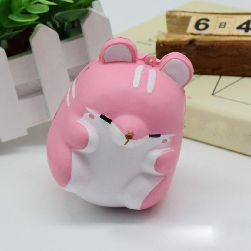 2018 Fun Hamster Squishy Decor Slow Rising Kid Toy Squeeze Relieve Anxiet Gift Squishy Stress Relief Toy Funny Kids Gift