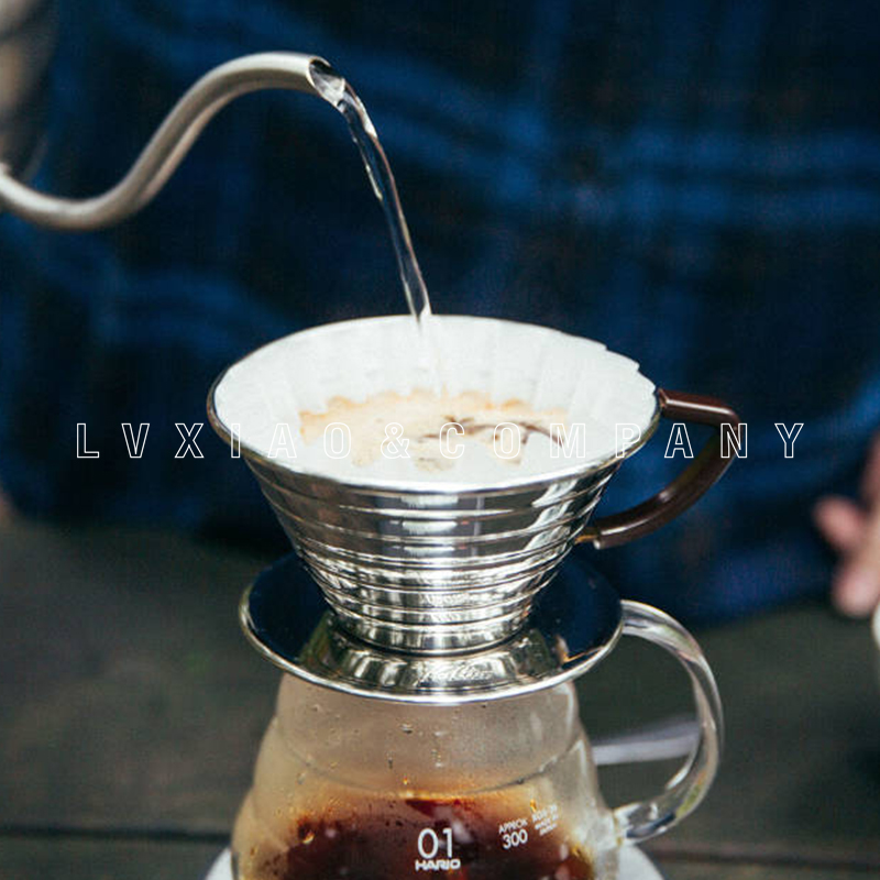 Ev ve Bahçe'ten Kahve Filtreleri'de 1 2/2 4 bardak paslanmaz kahve damlatıcı kalita El Kahve Filtreleri'da  Grup 1