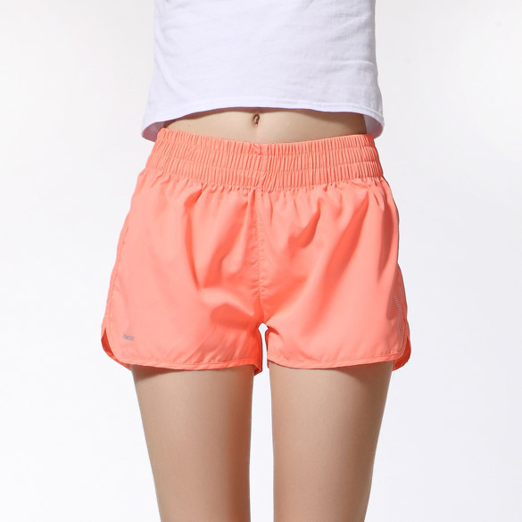 ZAPUYO Women Side Cut Sports / Gym / Night Shorts
