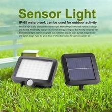 купить 56LED Solar Light IP65 PIR Motion Sensor Solar Powered Garden Light Outdoor Waterproof Wall Lamp Infrared Sensor Light по цене 710.58 рублей
