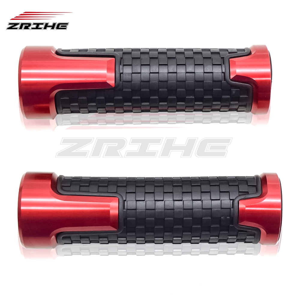 Yeyoucoc Motorcycle Rubber Handle Grips for Yamaha YZF-R3 R3 Color : Black