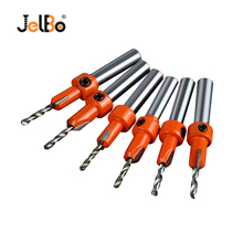 JelBo Countersink Drill Bits Opener Cone Screw Reamer Various Specifications Workmanship Counterbore Drilling for Woodworking